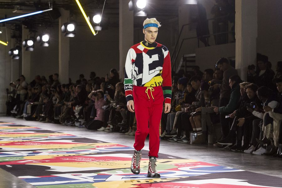 new arrival f0be2 91b9a London fashion week - iceberg's fall 2019