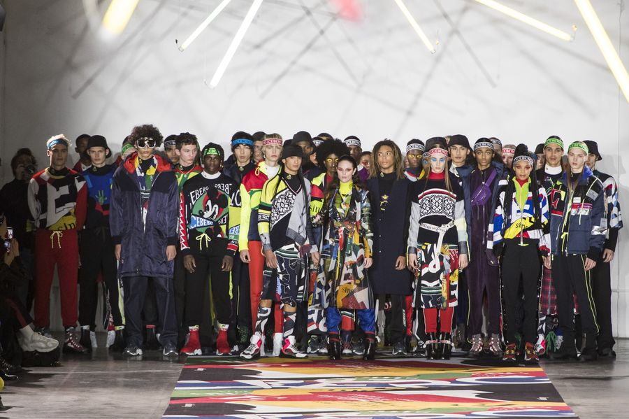 Men's London Fashion Week: ICEBERG Fall 2019