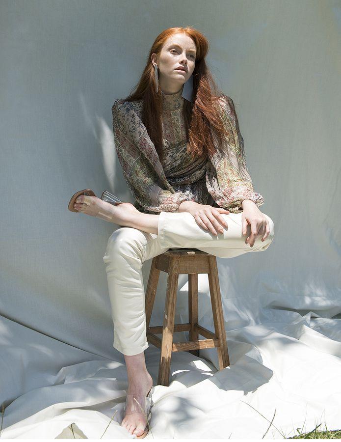 Modic Fashion Editorial - Delicate Auburn by Sara de Jesus Bento