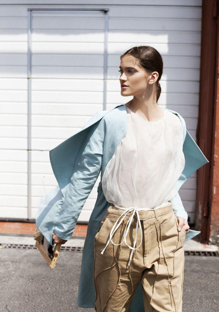Modic Fashion Editorial - Nudes by Roxana Enache